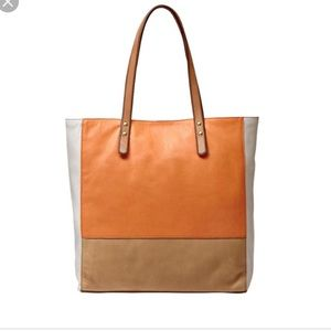 Fossil Zoey Leather Tote Bag Shopper